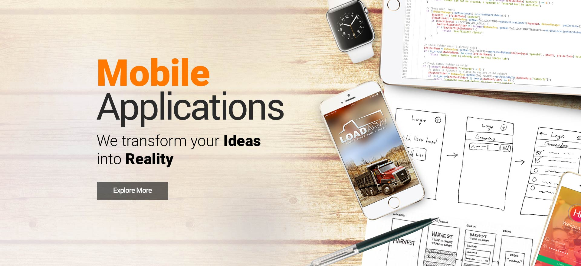 mobile app development by OutworX
